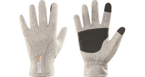 Regatta Polarize Gloves Men Seal Grey